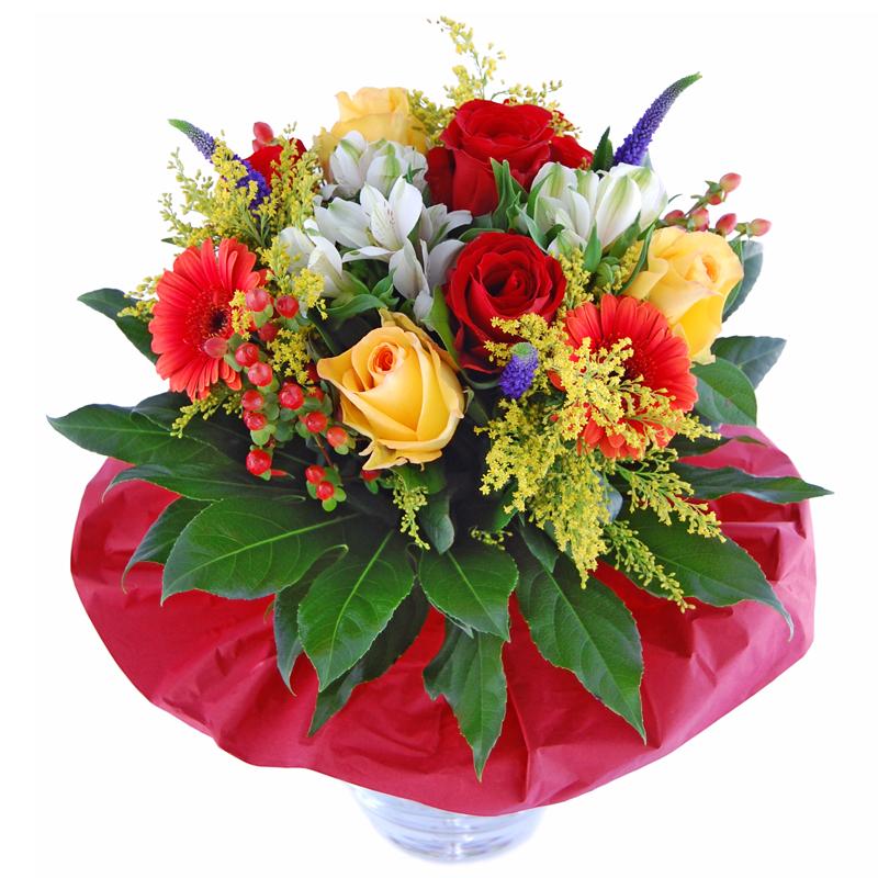 Kwiaty Burza Kolorow Bukiet Dla Mezczyzny Kwiaty Dla Mezczyzny