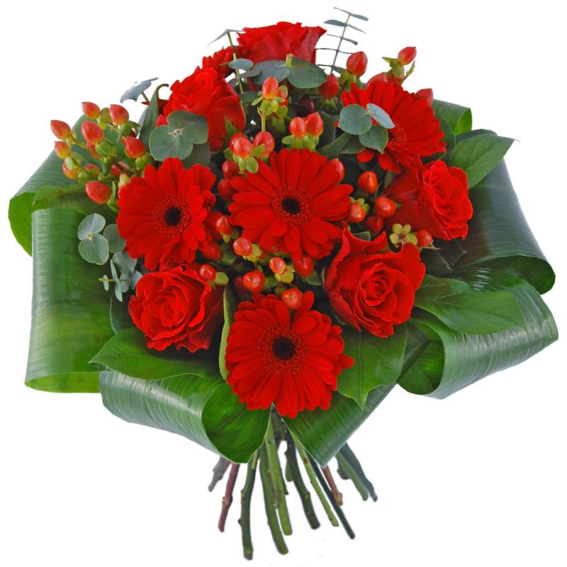 Kwiaty Dla Tej Jedynej Gerbery I Roze To Kwiaty Dla Przyjaciolki