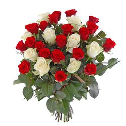 Ogromny bukiet róż
