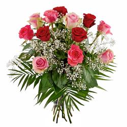 Róże na urodziny
